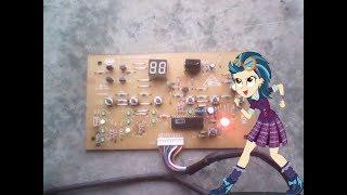"error E0 en tarjeta de aire acondicionado marca haier de 18.000 BTU 220 voltio "" reparada """