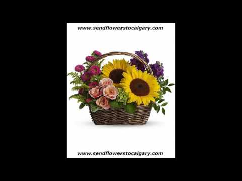 Send flowers from Saudi Arabia to Calgary Alberta Canada