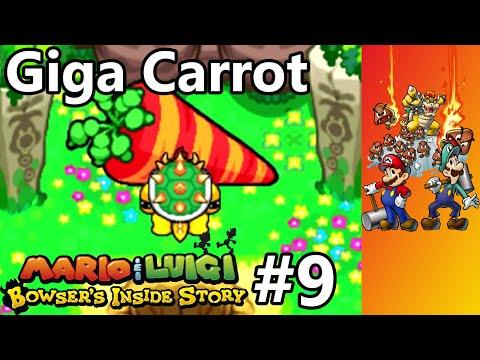 Mario & Luigi - Bowser's Inside Story - Episode 9 - Giga Carrot