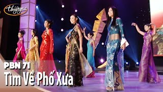 Tìm Về Phố Xưa (Nhật Trung) 10 Nữ Ca Sĩ Trình Diễn Áo Dài Thời Trang Calvin Hiệp - PBN 71