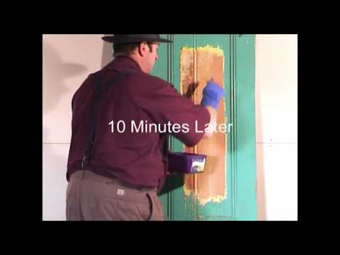 Stripping Thick lead interior Paint