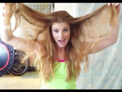 How To Do Hair For Gymnasitcs With Coach Meggin!