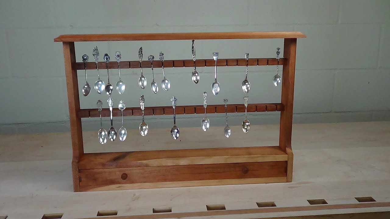 Spoon Display Case - YouTube