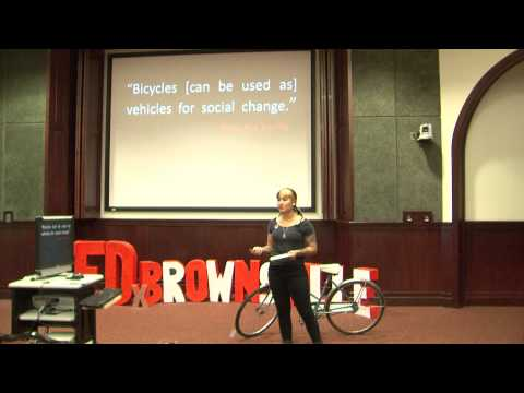 How to start a bicycle movement in your city: Claudia Tamez at TEDxBrownsville