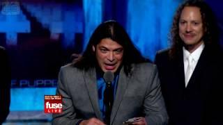 Robert Trujillo's Acceptance Speech (Rock & Roll Hall of Fame induction 2009) [HD]