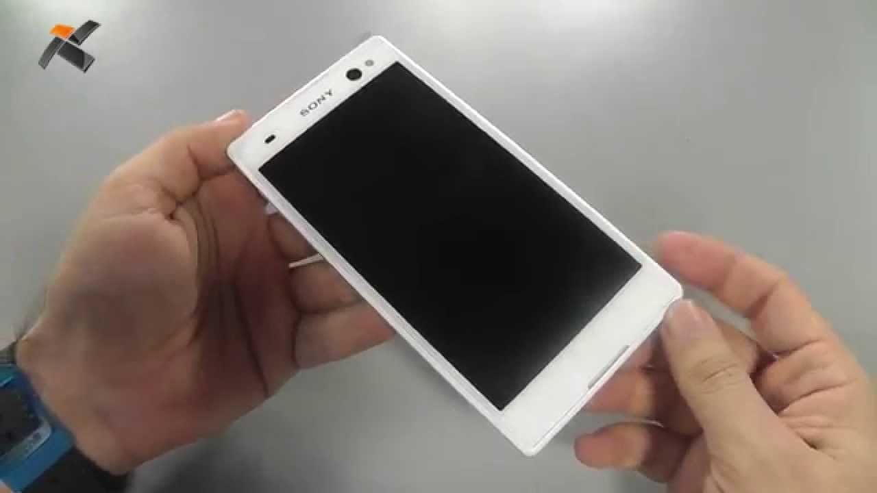 Sony Xperia C3 - Kutu açılış (Unboxing)