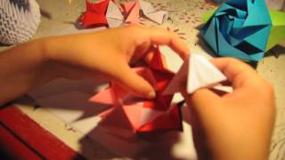 How To Make An Origami Kusudama (12 Units)