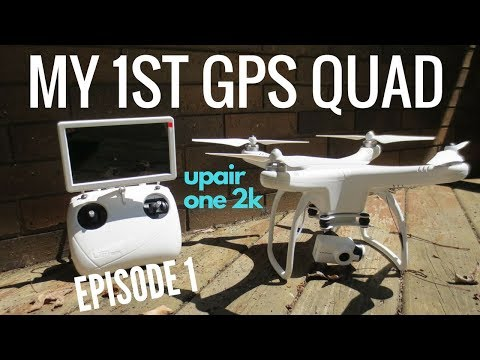 UPAIR One 2K Review - Episode #1 - Unboxing, Setup & Flight Test