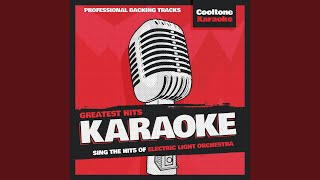 Telephone Line (Originally Performed by Electric Light Orchestra) (Karaoke Version)
