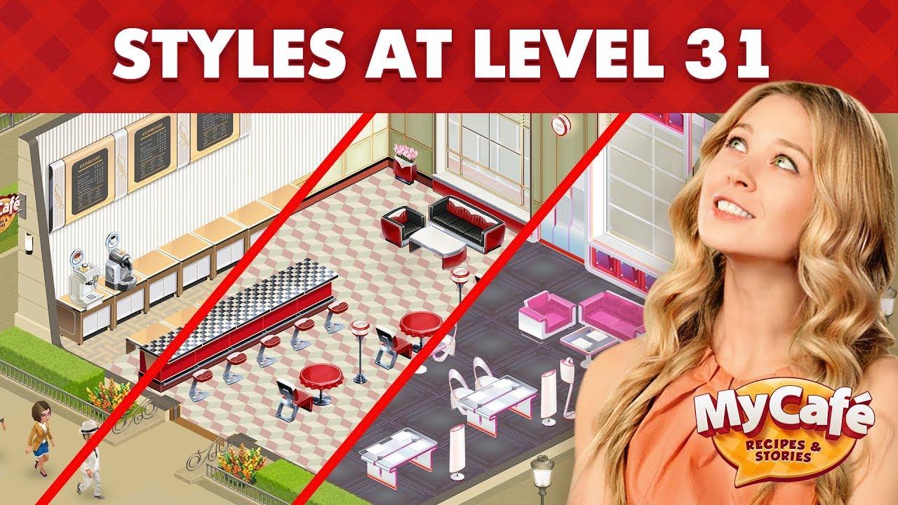 Video - My Cafe Level 31 Styles Comparison   My Café Wiki   FANDOM