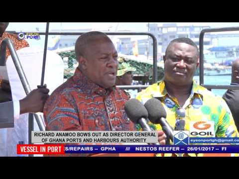 RICHARD AMAMOO BOWS OUT AS DIRECTOR GENERAL OF GHANA PORTS AND HARBOURS AUTHORITY
