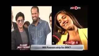 Will poonam pandey strip for shahrukh khan?