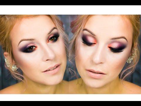Makijaż Na Walentynki Dla Zielonych Oczu Zmalowana Youtube
