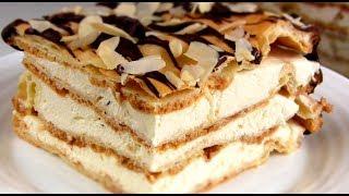 Торт Эклер\ Простой Заварной Торт-пирожное
