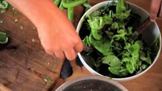 Green Leafy Mixed Salad