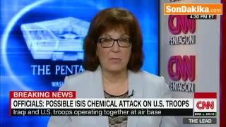 IŞİD, Amerikan Üssüne Kimyasal Füze Attı