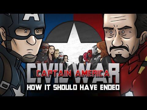 How Captain America: Civil War Should Have Ended