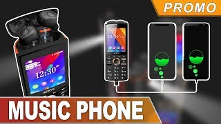 SERVO R25 Feature phone - 6000mAh Power Bank, Wireless Headphone, Dual SIM(Buy at banggood)