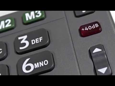 Seniorentelefon Amplicomms PowerTel 97 Alarm