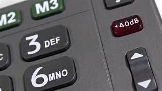 Produktvideo zu Sprechendes Großtasten-Telefon Amplicomms PowerTel 97 Alarm