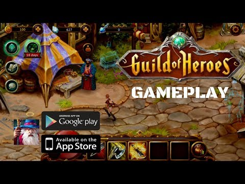 GUILD OF HEROES (fantasy RPG) - FIRST Look GAMEPLAY 2019 ( Android/IOS)
