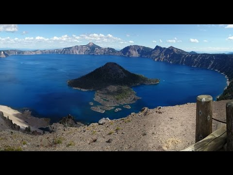 Crater Lake - The Deepest Lake in United States