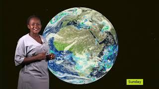 WEATHER FORECAST BY DAPHINE KABASIITA UBC TV 06 01 2020