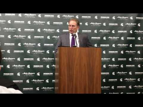 Tom Izzo on lineup change