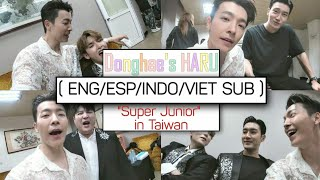 "[ENG/INDO SUB] Donghae's HARU with ""Super Junior"" in Taiwan"
