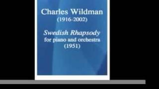 Charles Wildman (= Willy Mattes) (1916-2002) : Swedish Rhapsody (1948)