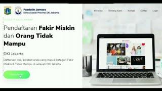 TUTORIAL PENDAFTARAN DTKS ATAU FMOTM DINAS SOSIAL