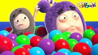 Oddbods 🔴 Munch aฑd Crunch ❤️ Funny Cartoons For Kids