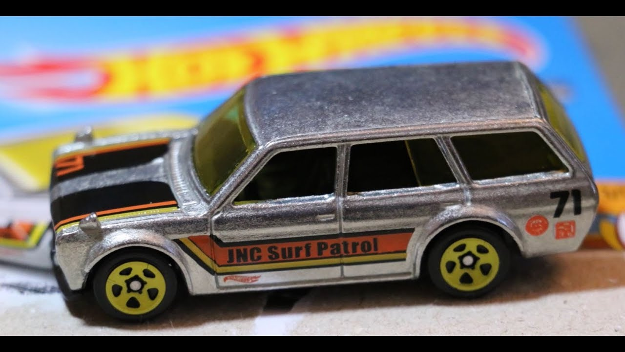 Hot Wheels 2017 Zamac Set 5 Datsun Bluebird Wagon Wow