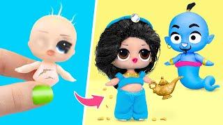 Never Too Old for Dolls! 6 Aladdin LOL Surprise DIYs