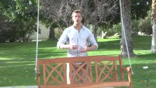 Magnolia 5 Ft. Porch Swing - Product Review Video
