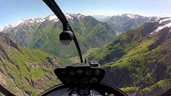 Helikopterflug von Zürich nach Lugano - helierlebnis.ch
