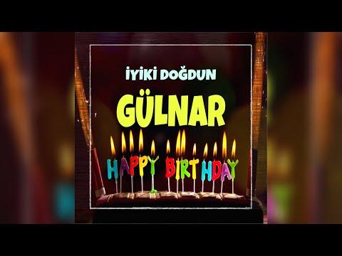 GÜLNAR İsimli Doğum Günü Kutlama Hediye Şarkısı