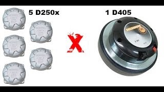 Som Automotivo - D405 ou várias D250X - Qual é melhor?