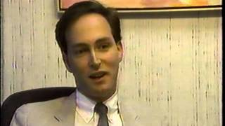 Howard Barbanel Interviewed by Channel 4 News Miami, 1988 on the launching of Inside Books Magazine