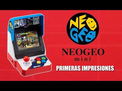 NEO GEO mini - UNBOXING y primeras IMPRESIONES en español