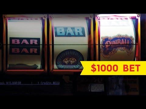 Pinball Slot $1000 Max Bet - ULTRA HIGH LIMIT - Jackpot Action!
