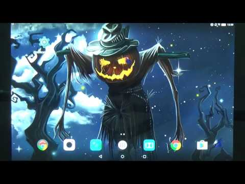 Halloween Live Wallpaper - beautiful free animated