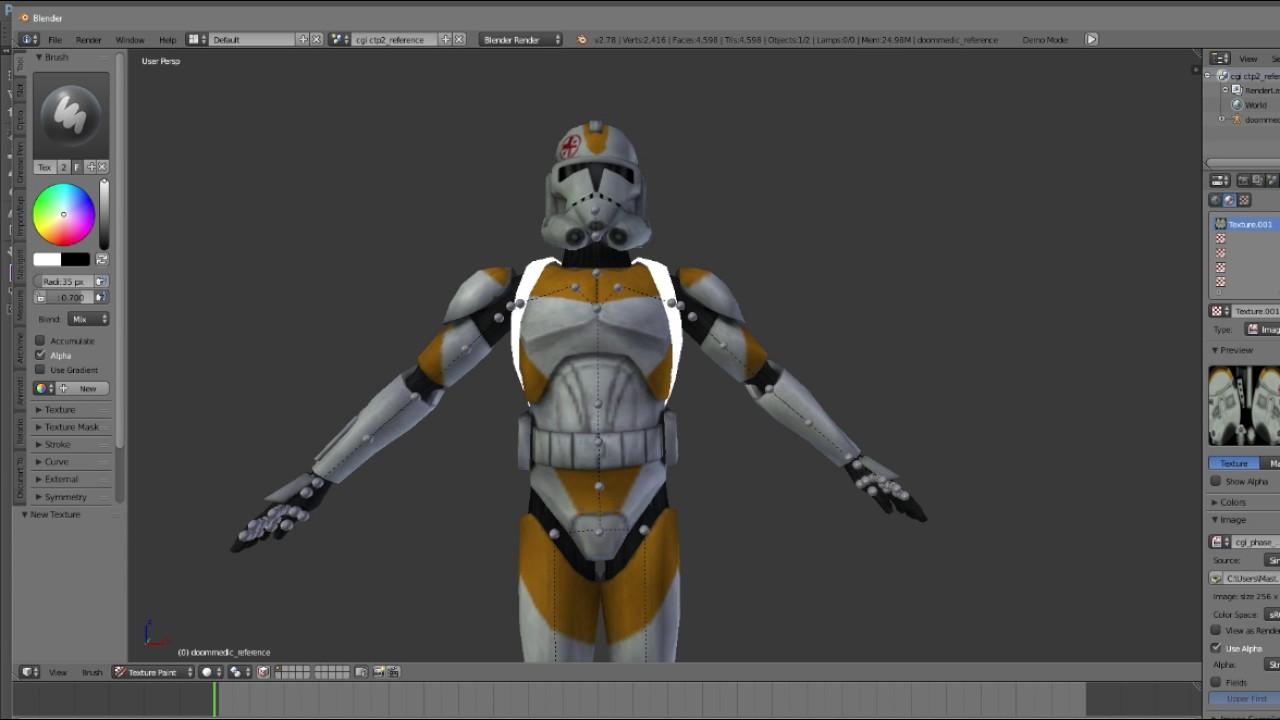 Garry Mods Making Star Wars Models