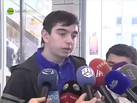 Heydər İlham oğlu Əliyevin ilk müsahibəsi (universitet)