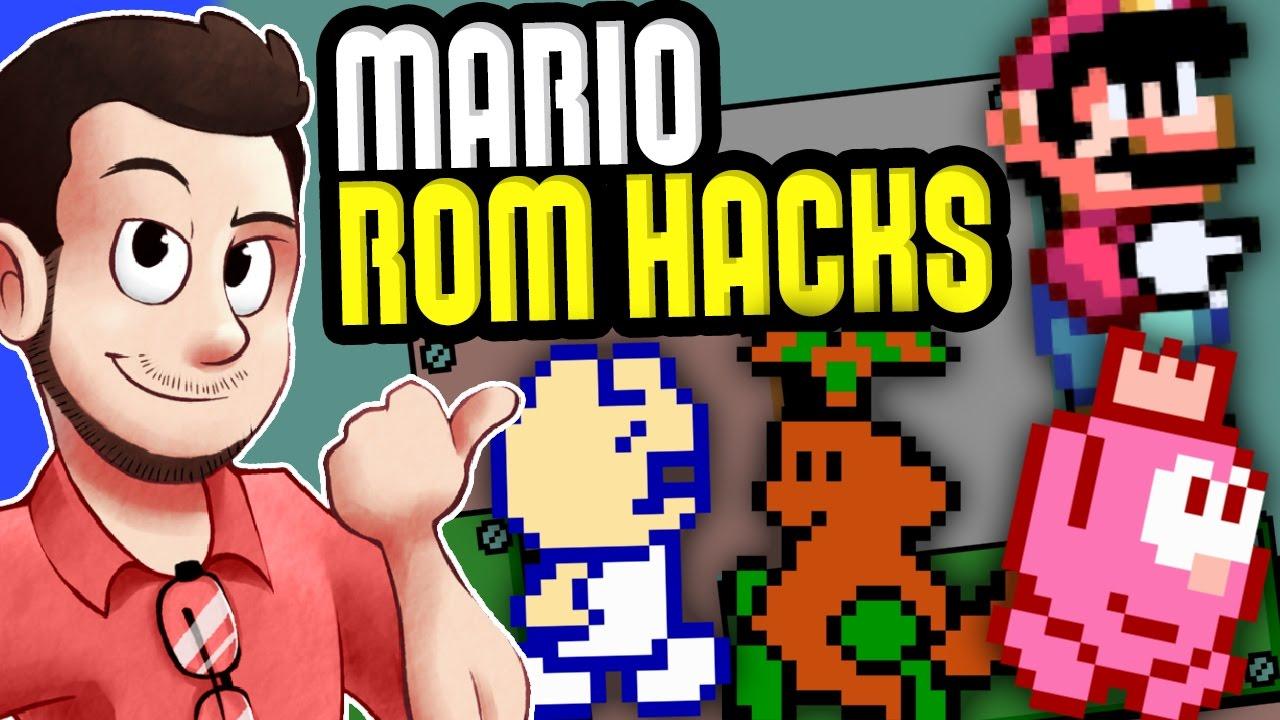Mario ROM Hacks - AntDude