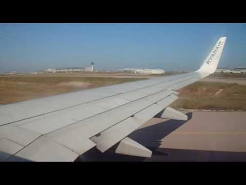 Ryanair Boeing 737 800 (EI-DPP) flight from Athens to Rhodes