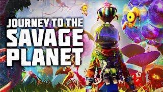 Дикая Планета #1 ТЕРМОЯДЕРНЫЙ ПОПУГАЙ / Journey To The Savage Planet