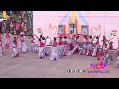 Lapay Bantigue Dance Festival 2015 - Nursery Elementary School
