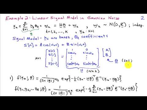 Maximum Likelihood Estimation Examples