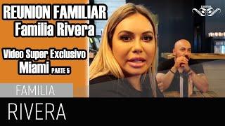 FAMILIA RIVERA con Don Francisco SUPER EXCLUSIVA Chiquis Lupillo Don Pedro Rosie Rivera